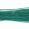 Metallic Braided Cord 2mm 12m Green